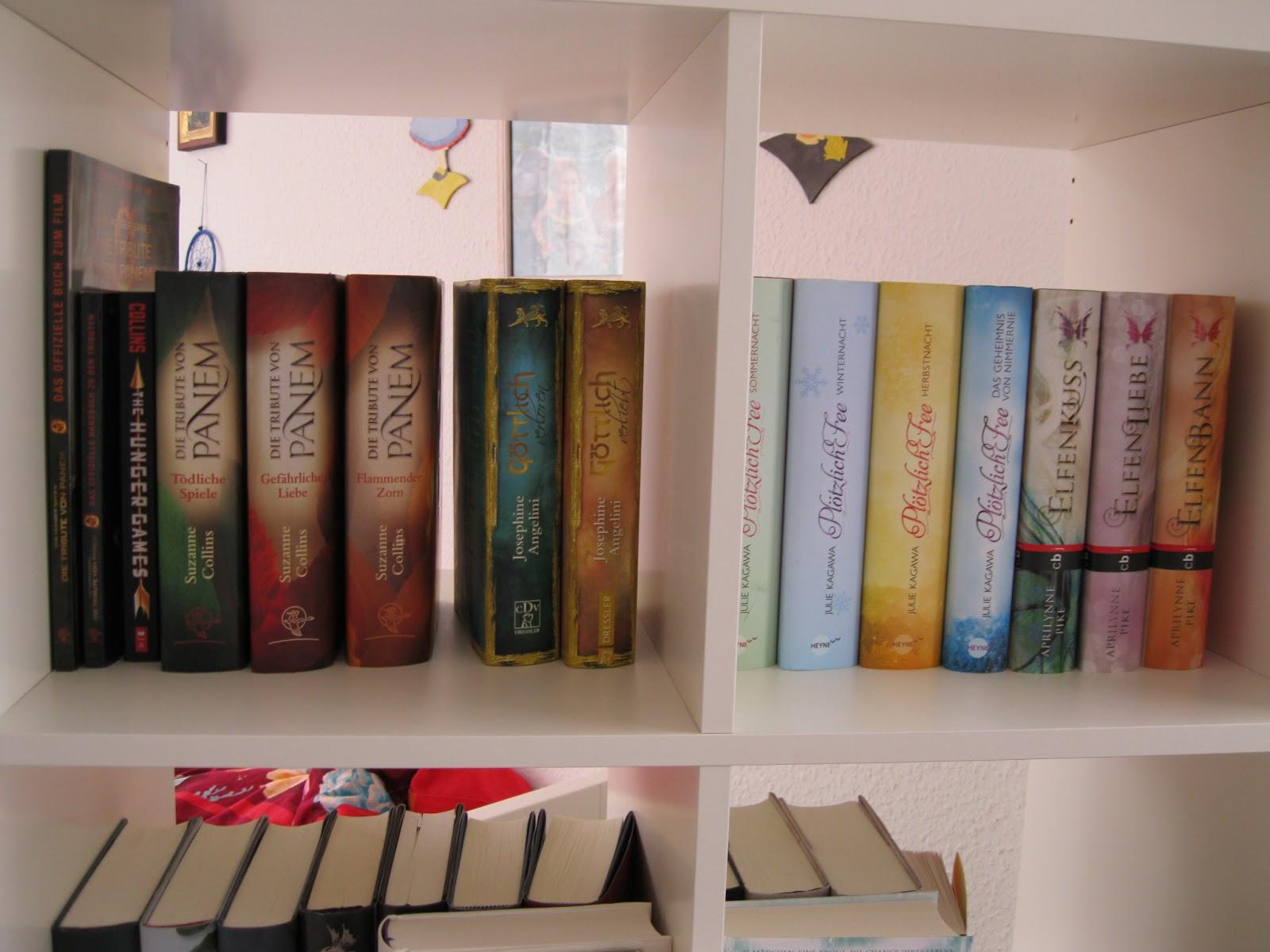 Bücherregal gemalt  Das Buchgelaber: [TAG] Eine Reise durch mein Bücherregal