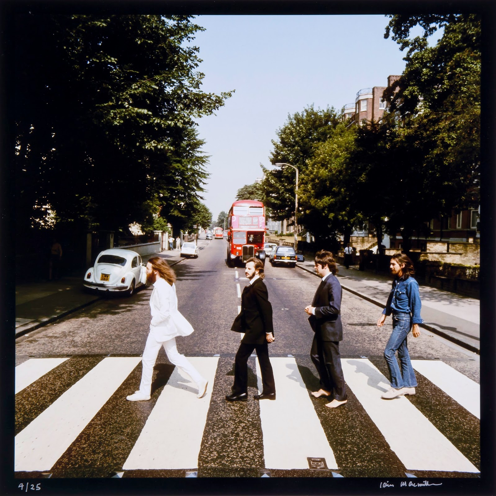 a review of abbey road an album by the beatles Leave it to the beatles to create the greatest album of all time.