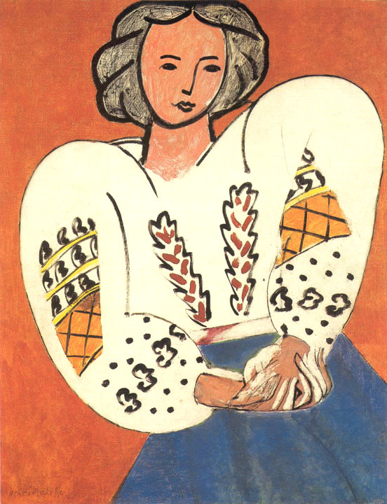 Matisse - La blouse roumaine