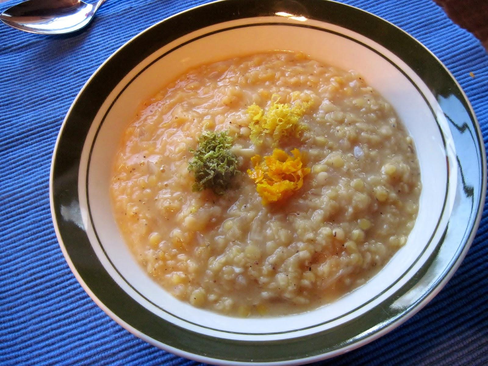 masoor dal red lentil soup