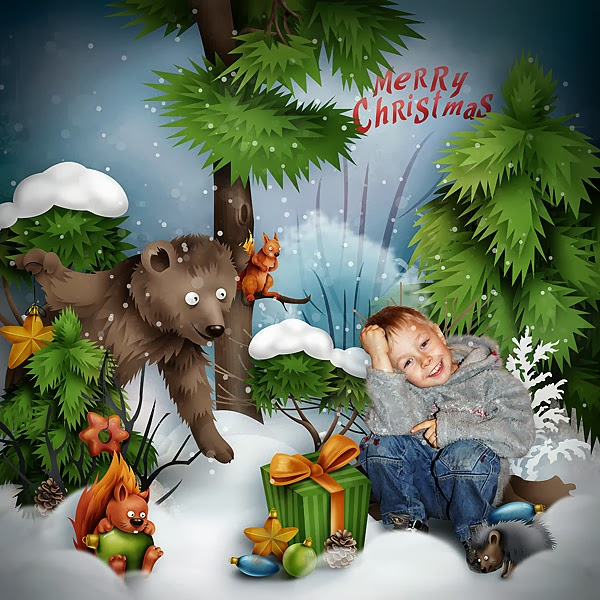Animals also love Christmas OlgaUnger+-+Animals+also+love+Christmas