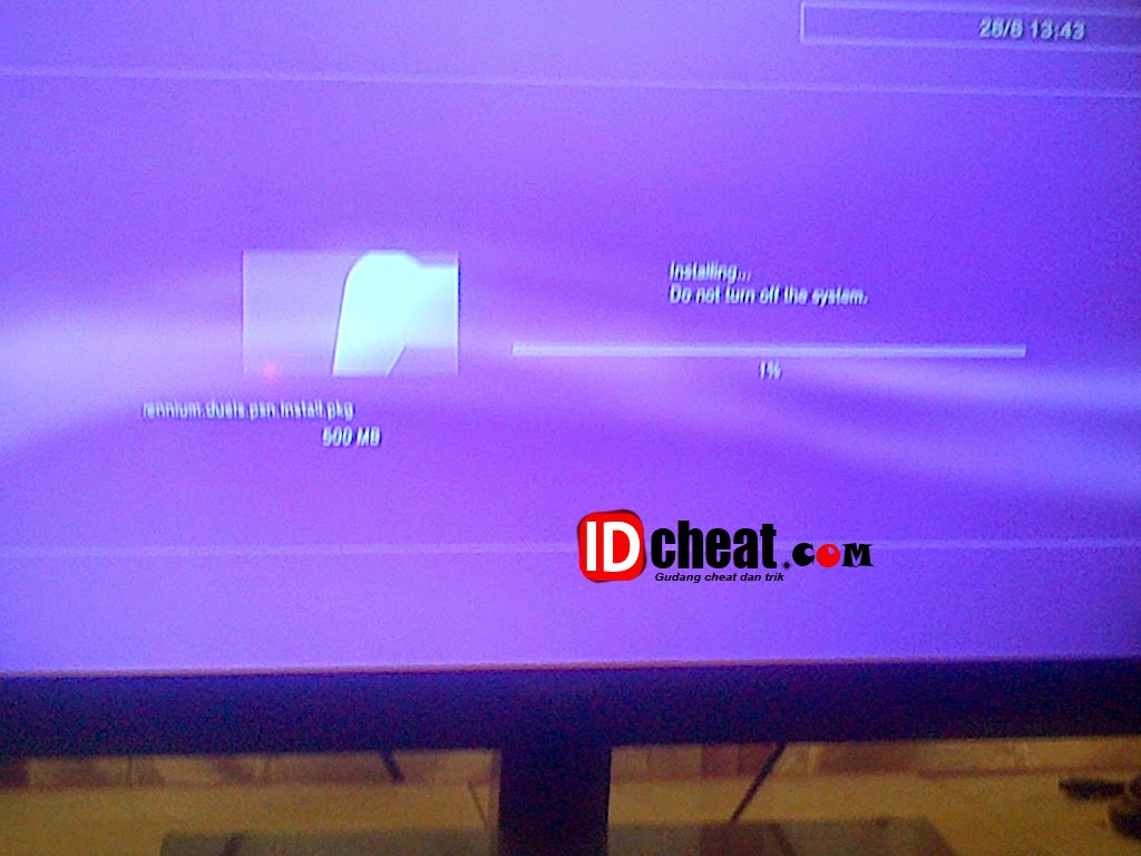 Instal Package/PKG pada konsol playstation 3