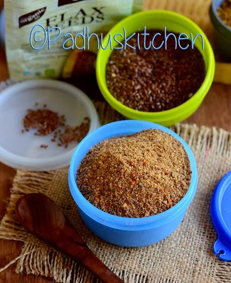 Flax seed Podi