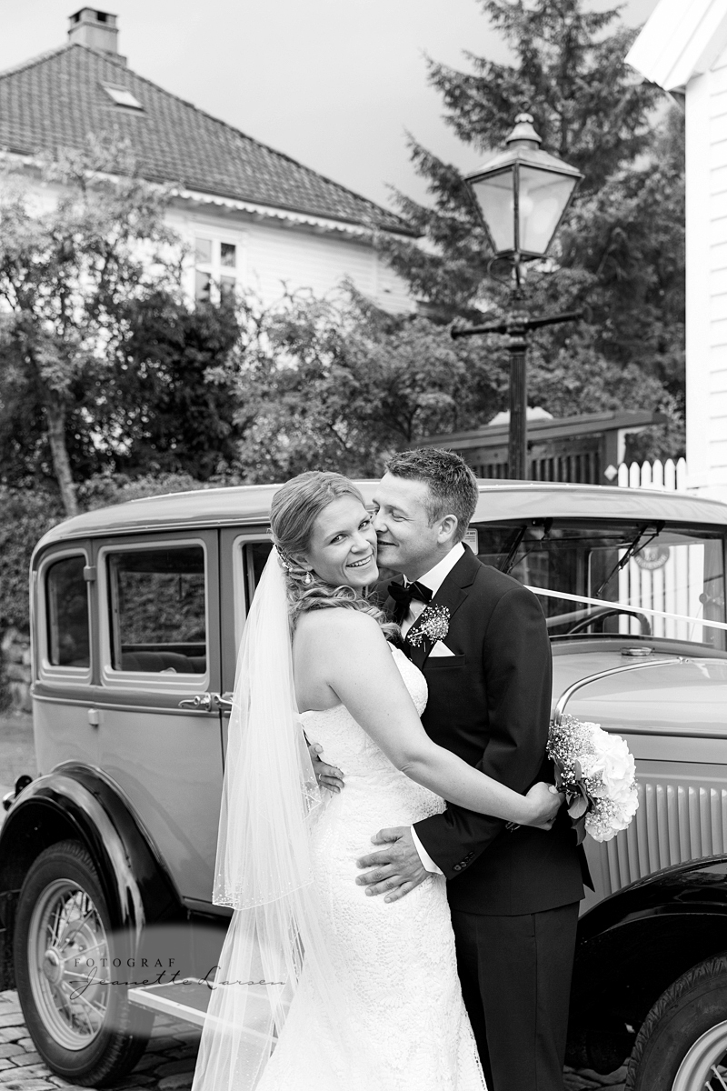 bryllup, veteranbil, leiebil