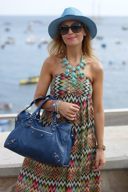 summer look, azure panama hat, lulu love maxi dress, Fashion and Cookies