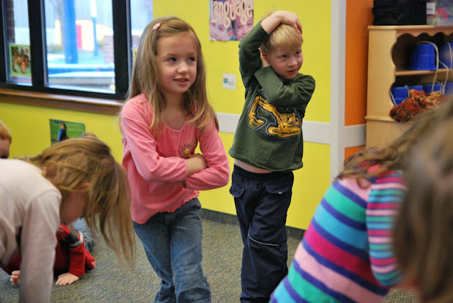 Young Children Benefit from Dance: Research at PreK+K Sharing