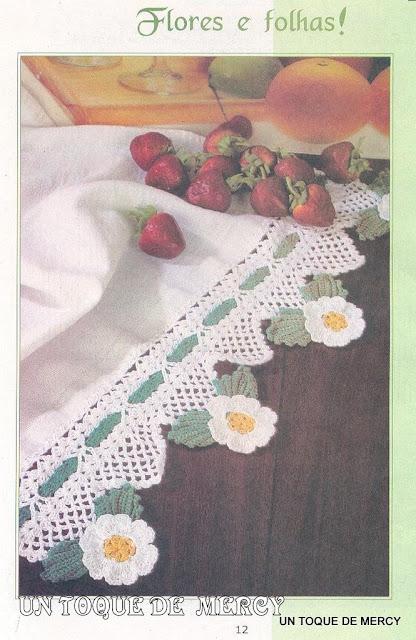 puntillas ganchillo para servilletas de tela paso a paso . Read more