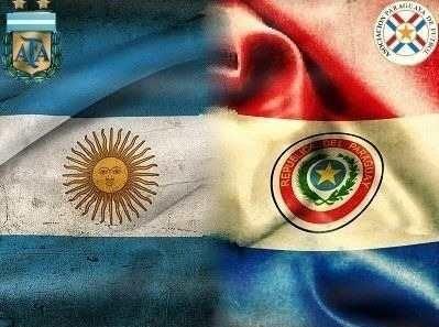 Argentina recibe a Paraguay con toda su 'bandola'