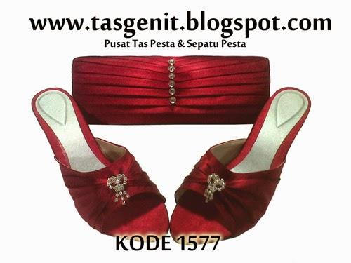 sandal pesta, sendal pesta cantik, sepatu pesta, jual sepatu wanita online, clutch bag and shoes