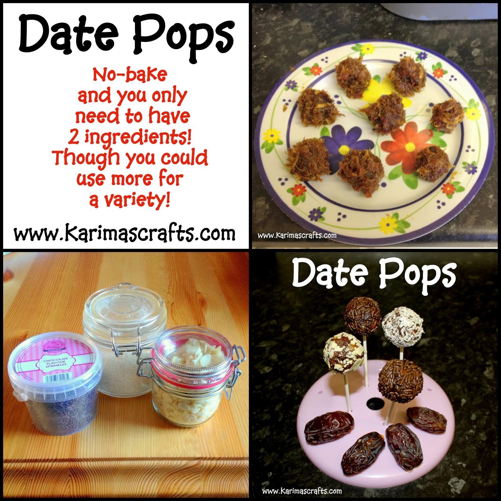 date pops ramadan food