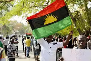 IPOB members confront Obiano in church, chant 'no election in Anambra'