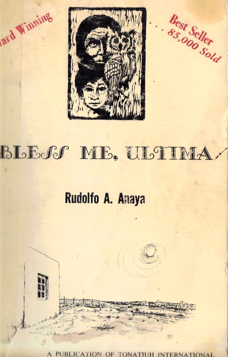 book report bless me ultima Get all the key plot points of rudolfo anaya's bless me, ultima on one page from the creators of sparknotes bless me, ultima summary from litcharts | the creators of sparknotes.