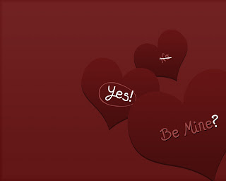 Be Mine? Yes! Love Wallpaper