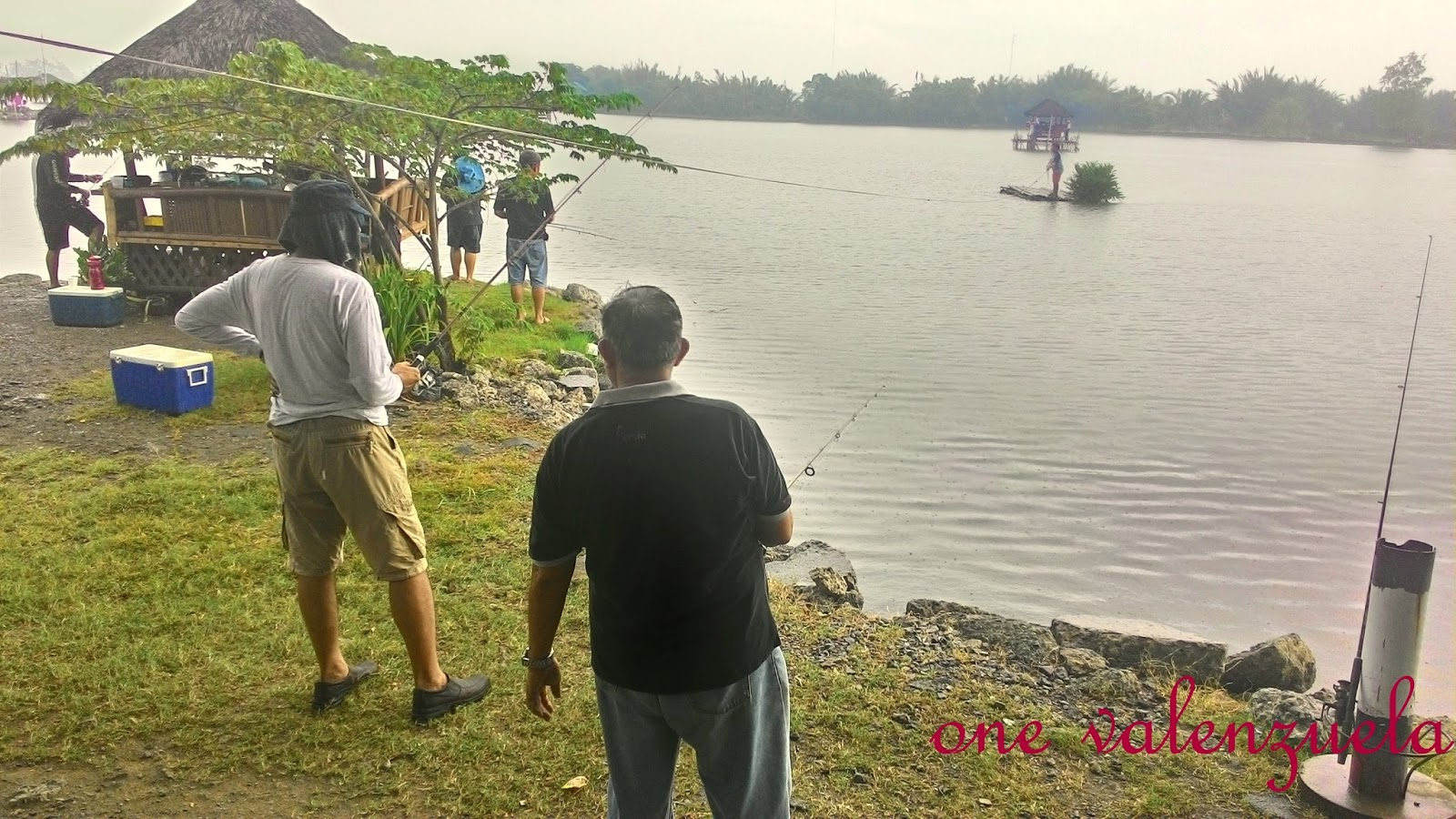 Fish frenzy fishing at aling nene 39 s pond coloong i for Koi pond quezon city