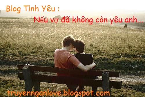 Blog Tình Yêu : Nếu vợ đã không còn yêu anh...