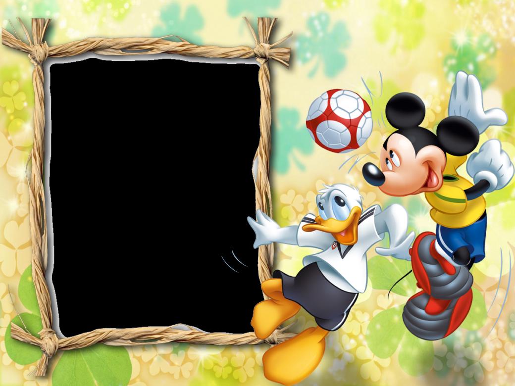 Marcos Png De Mickey Mouse Para Niños Gratis