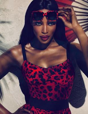 Naomi Féline pour Animalier par Dolce & Gabbana