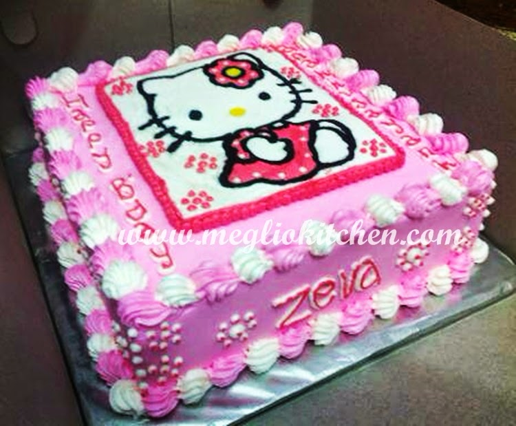 Resep Kue Tart Ulang Tahun Hello Kitty – Cara Menghias