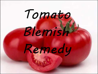 tomato blemish remedy