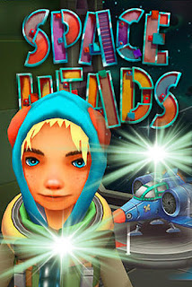 Screenshots of the Space heads for Android tablet, phone.