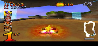 crash tem racing screen
