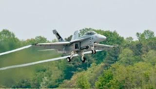 F/A-18 on 50/50 biofuel blend