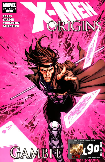 Inscripciones SOTW #8 GAMBITO (x-men) 00-9