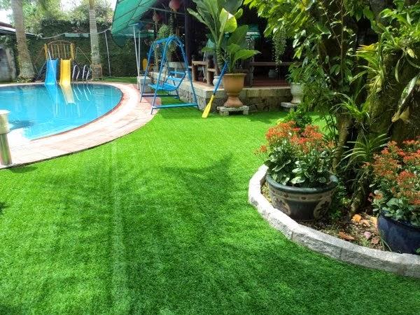 Kết quả hình ảnh cho cỏ nhân tạo cho hồ bơi