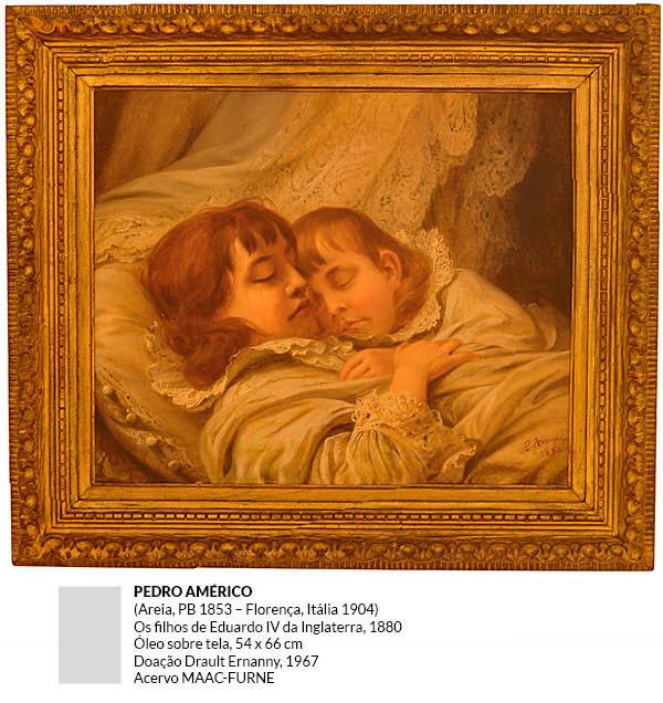 Pedro Américo - Os Filhos de Eduardo IV da Inglaterra