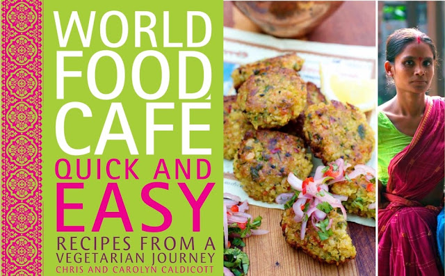 Vegetarian Book Review: World Food Café: Quick & Easy