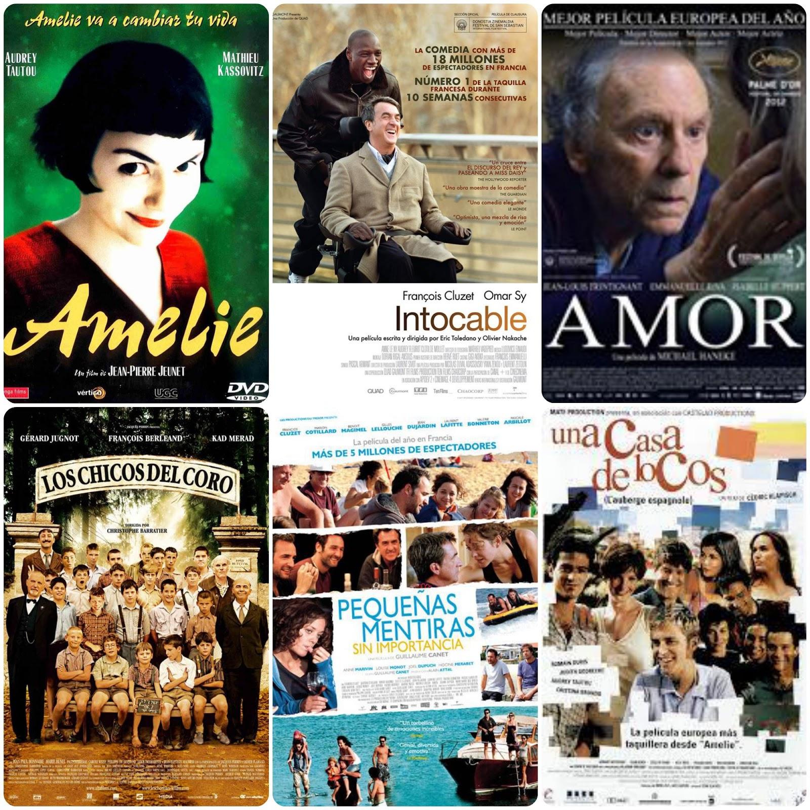 collage películas francesas más exitosas
