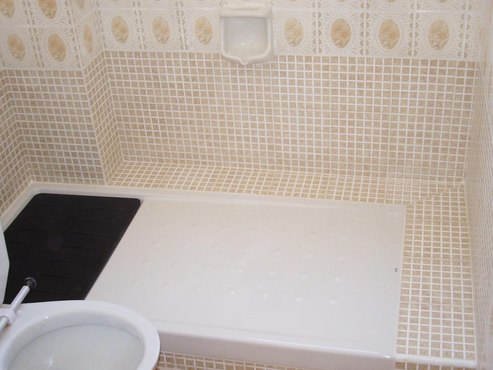 Baldosassa fotos e imagenes de platos de ducha - Cambio de banera por ducha sin obras ...