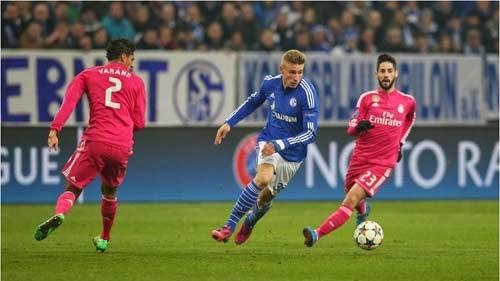 Schalke 04 vs. Real Madrid 0-2 UEFA Champions League 18-02-2015