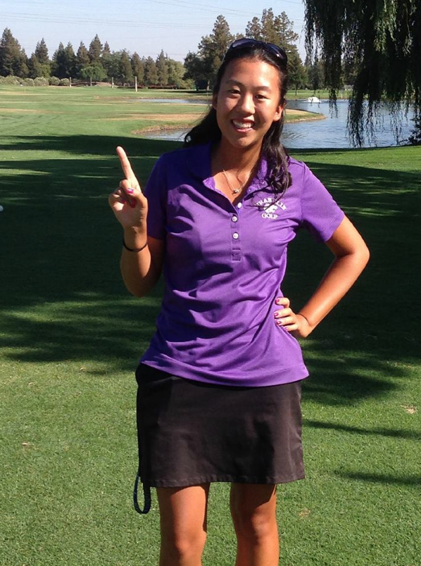Fong, Kaur Finish 1-2 In Section Div. I Golf