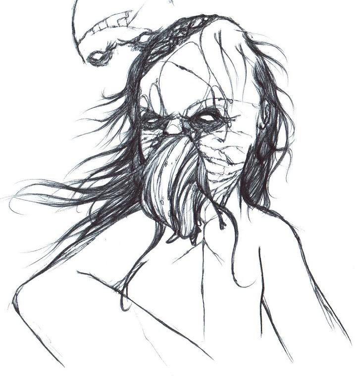 Dead Space boceto. 2