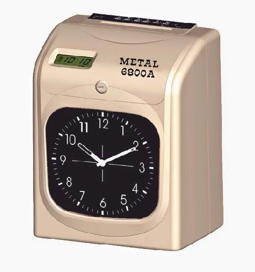 Máy chấm công Metal 6800A