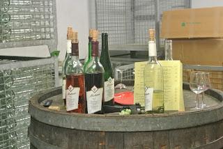 Wijn proeven na een rondleiding in Weingut Metzen