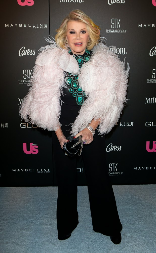 A Tribute to Joan Rivers and a glance at her glammed up fashion - .