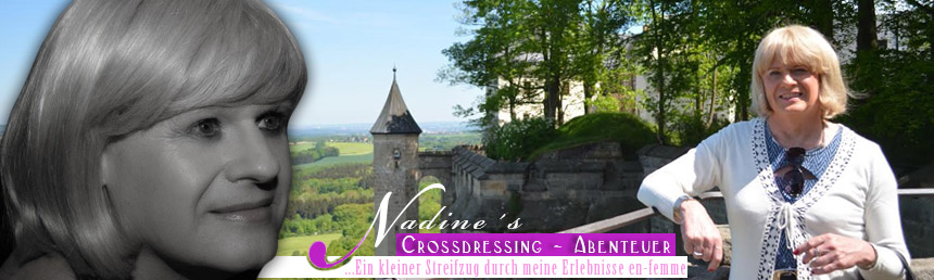 Nadine´s Crossdressing Abenteuer