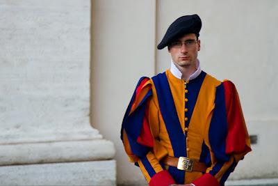 A Member of the Swiss Guard - Vatican City