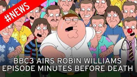 "BBC Airs Robin Williams Family Guy Episode In ""Freakishly Weird"" Coincidence"