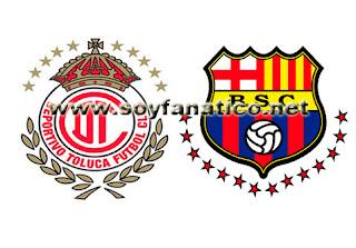 Toluca vs Barcelona de Guayaquil 2013