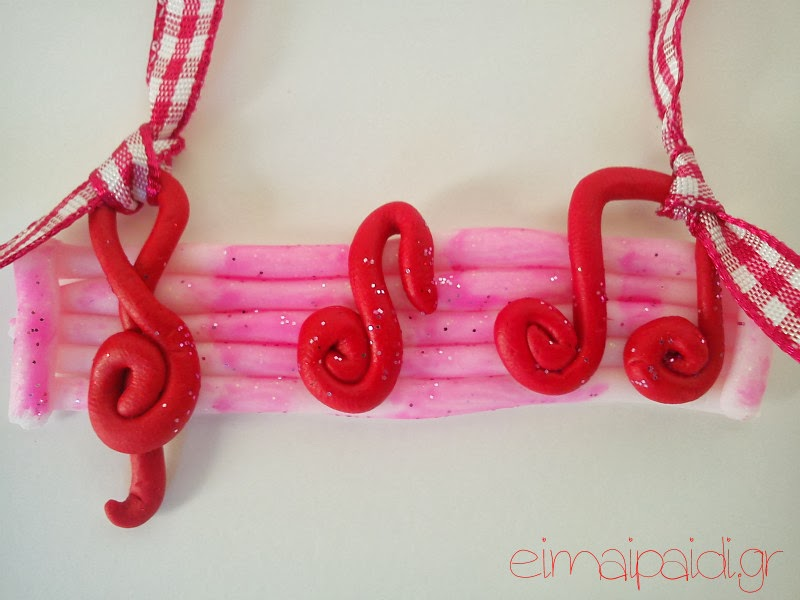 eimaipaidi.gr-polymeric clay ornament-music notes