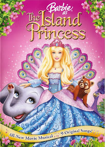 Poster Of Barbie as the Island Princess (2007) In Hindi English Dual Audio 300MB Compressed Small Size Pc Movie Free Download Only At worldfree4u.com