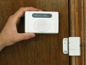 Allarme senza fili come proteggere tramite allarme la - Paletto porta blindata ...