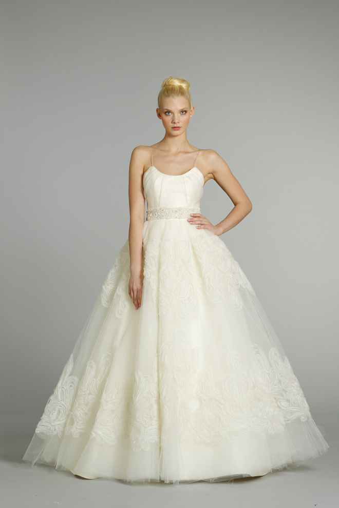 Jim hjelm fall 2012 bridal collection my dress of the for Princess cut wedding dresses