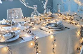 Fil book activit s pour enfant les plus belles tables - Decoration de table de noel argent ...