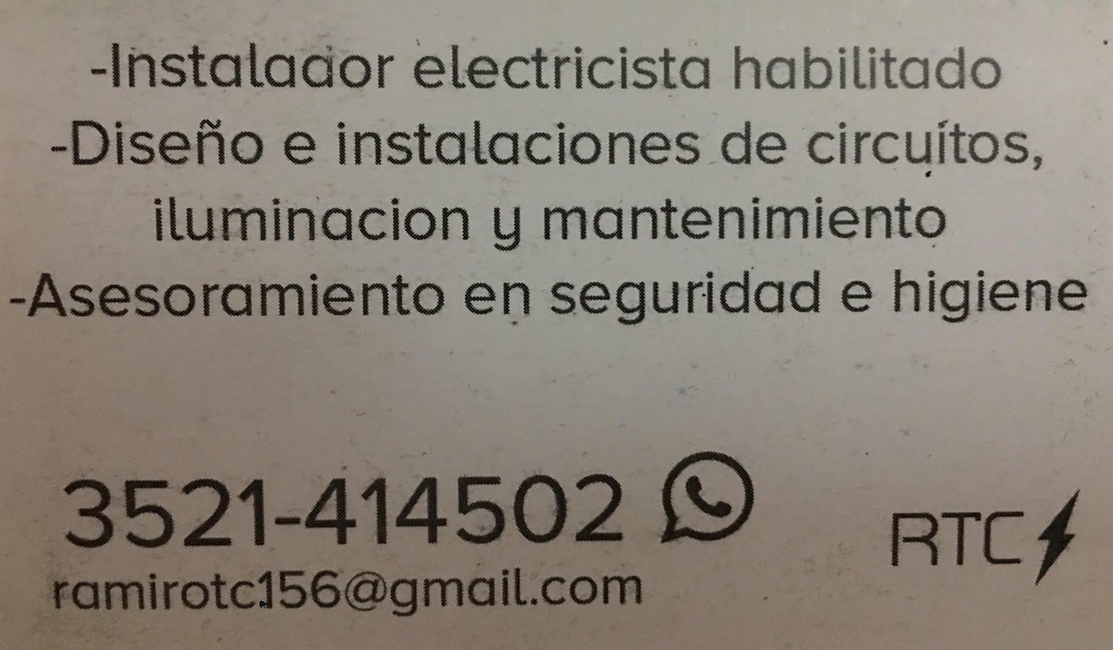 Instalador Electricista Habilitado