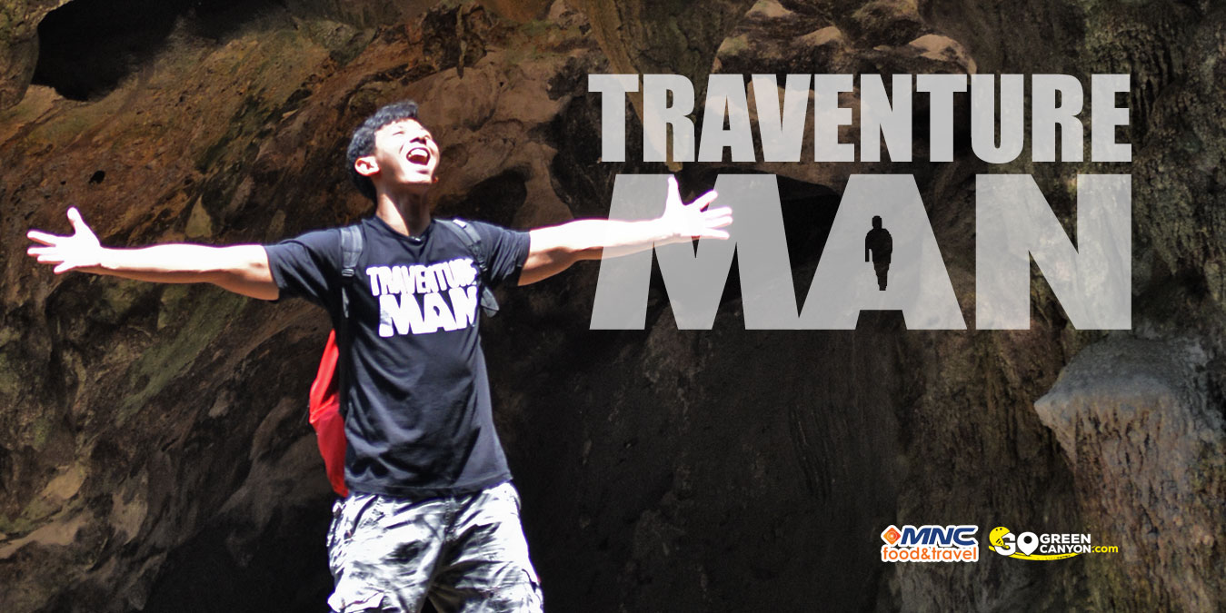 TraventureMan di Green Canyon, Pangandaran, Batu Hiu dan Batu Karas