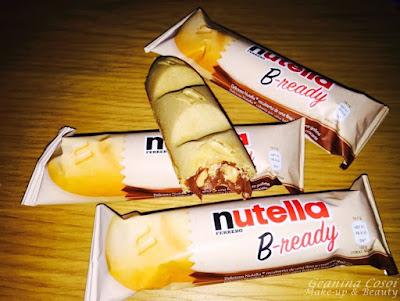 Nutella B-ready Degustabox Diciembre 2015